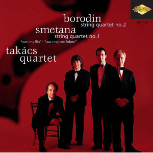 Borodin: String Quartet No. 2 / Smetana: String Quartet No. 1