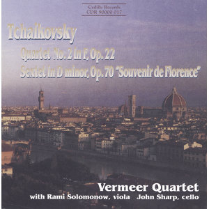 Tchaikovsky: String Quartet No. 2 in F Major / Souvenir De Florence