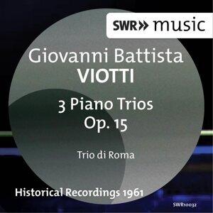 Viotti: Piano Trios, Op. 15