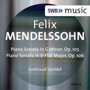 Mendelssohn: Piano Sonatas, Opp. 105 & 106