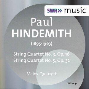 Hindemith: String Quartets Nos. 3 & 5
