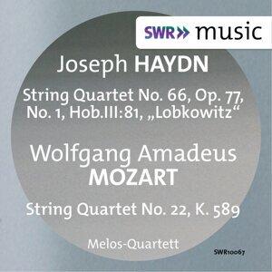 Haydn: String Quartet No. 66 - Mozart: String Quartet No. 22
