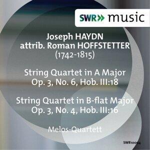 Joseph Haydn: String Quartets, Op. 3, Nos. 4 & 6 (Attrib. Hoffstetter)