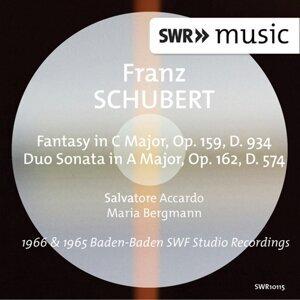 Schubert: Fantasy, Op. 159 & Duo Sonata, Op. 162