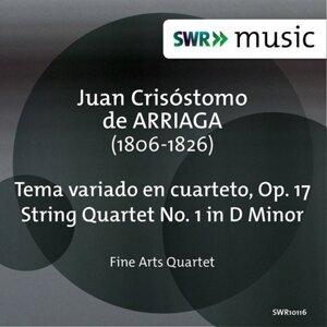Arriaga:  Tema variado en cuarteto - String Quartet No. 1