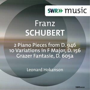 Schubert: 3 Klavierstücke, 10 Variations & Grazer Fantasie