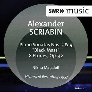 """Scriabin: Piano Sonatas Nos. 5 & 9, """"Black Mass"""" & 8 Etudes, Op. 42"""