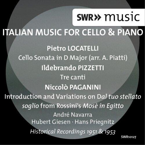 Italian Music for Cello & Piano