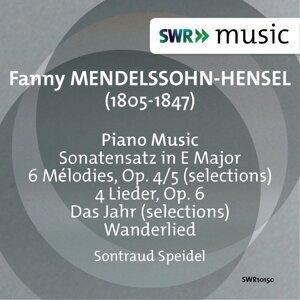 Fanny Mendelssohn: Sonatensatz - Das Jahr - 6 Melodies - 4 Lieder
