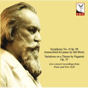 Brahms: Symphony No. 4, Variations on a Theme by Paganini & 8 Klavierstücke  (Live)
