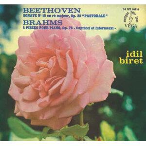 Beethoven: Piano Sonata No. 15 - Brahms: 8 Klavierstücke