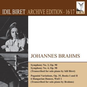 İdil Biret Archive Edition, Vol. 16: Johannes Brahms