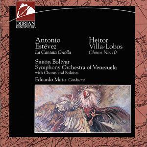 """Estevez, A.: Cantata Criolla, """"Florentino, El Que Canto Con El Diablo"""" / Villa-Lobos, H.: Choros No. 10, """"Rasga O Coracao"""""""