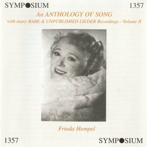 An Anthology of Song, Vol. 2 (1903-1935)