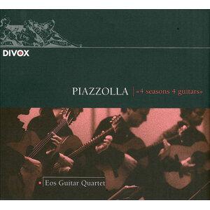 Piazzolla: 4 Estaciones Portenas (Las) / Brouwer: Acerca Del Cielo, El Aire Y La Sonrisa / Assad, S.: Uarekena (Eos Guitar Quartet)