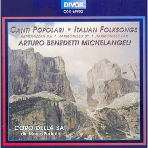 Traditional: Italian Folksongs
