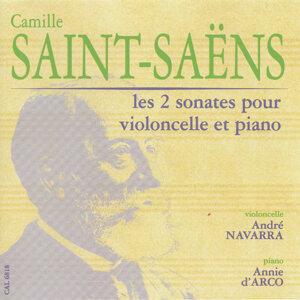 Saint-Saens: Les 2 sonates pour violoncelle et piano