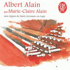 Albert Alain par Marie-Claire Alain aux orgues de Saint-Germain-en-Laye