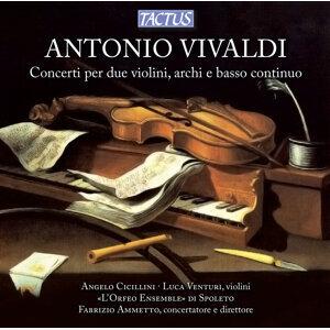 Vivaldi: Concerto per 2 violini, archi & basso continuo