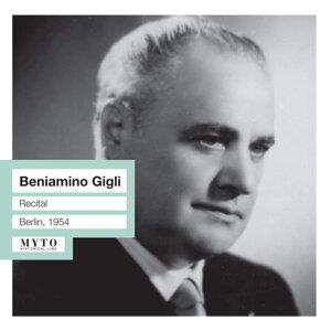 Beniamino Gigli Recital  (Live)