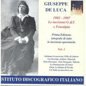 Opera Arias (Baritone): Luca, Giuseppe De - Cilea, F. / Massenet, J. / Donizetti, G. / Verdi, G. / Thomas, A. (Opera Highlights, Vol. 1)