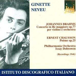 Brahms, J.: Violin Concerto, Op. 77 / Chausson, E.: Poeme (Neveu, Philharmonia Orchestra, Dobrowen) (1946)