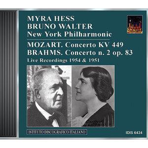 Mozart: Piano Concerto No. 14 / Brahms: Piano Concerto No. 2 (Hess, Walter) (1951, 1954)
