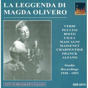 Vocal Recital: Magda Olivero - Puccini, G. / Cilea, F. / Boito, A. / Verdi, G. / Puccini, G. / Charpentier, G. / Massenet, J. / Franck, C. (1938-1953)