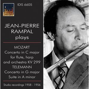 Jean-Pierre Rampal Plays Mozart & Telemann (1956,1958)