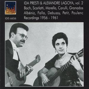 Ida Presti & Alexandre Lagoya, Vol. 2: Recordings 1956-1961