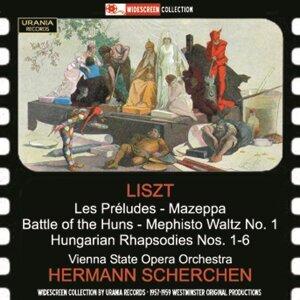 Liszt: Les préludes, S. 97, Battle of the Huns, S. 105 & 6 Hungarian Rhapsodies, S. 359