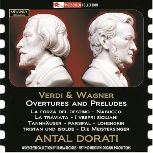 Verdi & Wagner: Overtures