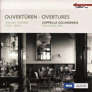 Heinichen, J.D. / Graupner, C. / Fasch, J.F. / Graun, J.G.: Overtures