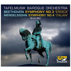 """Beethoven: Symphony No. 3 """"Eroica"""", -  Mendelssohn Symphony No. 4, """"Italian"""""""
