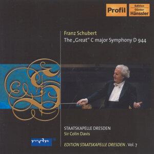 """Schubert, F.: Symphony No. 9, """"Great"""" (C. Davis) (Staatskapelle Dresden Edition, Vol. 7)"""