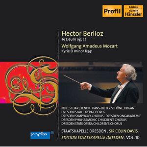 Berlioz, H.: Te Deum / Mozart, W.A.: Kyrie, K. 341 (C. Davis) (Staatskapelle Dresden Edition, Vol. 10)