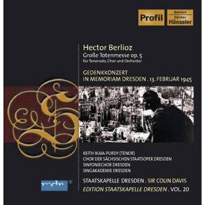 Berlioz, H.: Requiem (Staatskapelle Dresden Edition, Vol. 20)