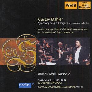 Mahler, G.: Symphony No. 4 (Edition Staatskapelle Dresden, Vol. 21)