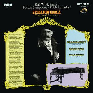 Scharwenka: Piano Concerto No. 1, Op. 32 - Balakirev: Réminiscences de l'opéra - Medtner: Improvisation, Op. 31 - d'Albert: Scherzo, Op. 16