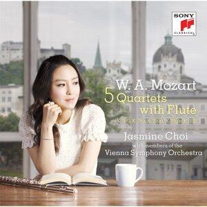 W.A. Mozart : 5 Quartets With Flute