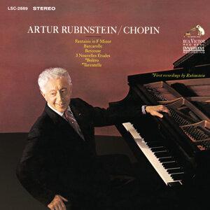Chopin: Barcarolle, Op. 60; 3 Nouvelles Études; Boléro, Op. 19; Fantaisie, Op. 49; Berceuse, Op. 57 & Tarantelle, Op. 43