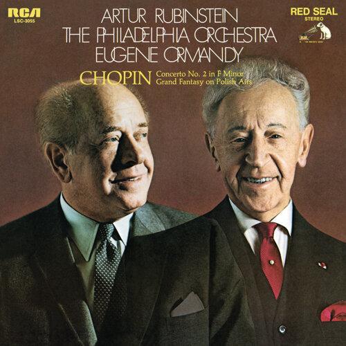 Arthur Rubinstein - Chopin: Piano Concerto No  2 in F Minor