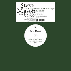 Seen It All Before/Come To Me - The Greg Wilson & Derek Kaye Remixes