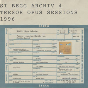 Archiv 4 : Opus Sessions 1996