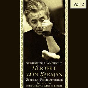 Beethoven: 9 Symphonies - Herbert Von Karajan, Vol. 2