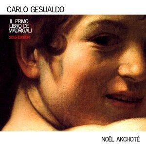 Carlo Gesualdo: Il primo libro de madrigali - Arr. for Guitar, 2016 Edition