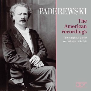 Paderewski: The American Recordings – The Complete Victor Recordings (1914-1931)