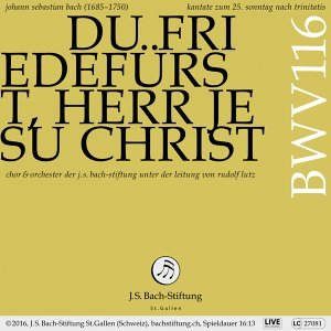 Bachkantate, BWV 116 - Du Friedefürst, Herr Jesu Christ