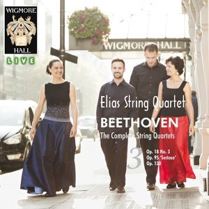 Beethoven: The Complete String Quartets, Vol. 3 - Wigmore Hall Live