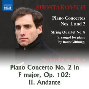 String Quartet No. 8 in C Minor, Op. 110: II. Allegro molto (Arr. B. Giltburg for Piano)